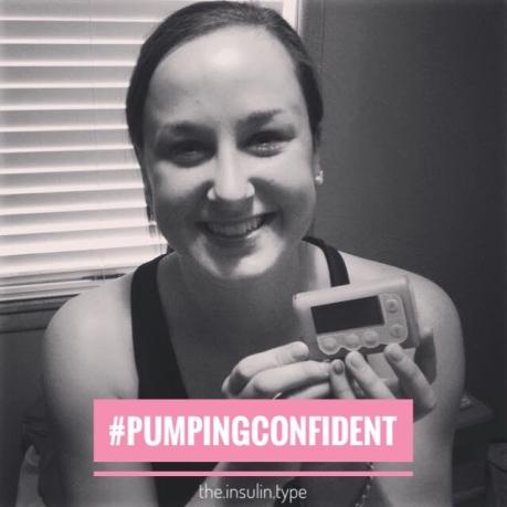 pumping confident