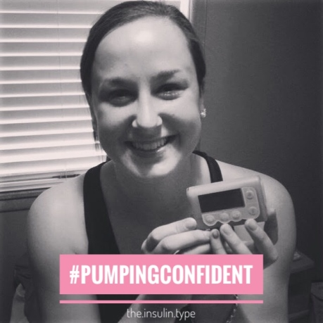pumping confident