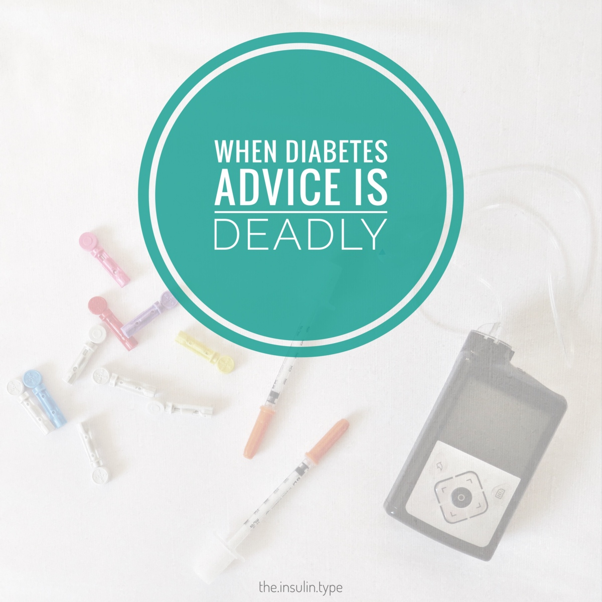 When Diabetes Advice is Deadly